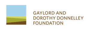 logo for gaylord and dorothy donnelley foundation