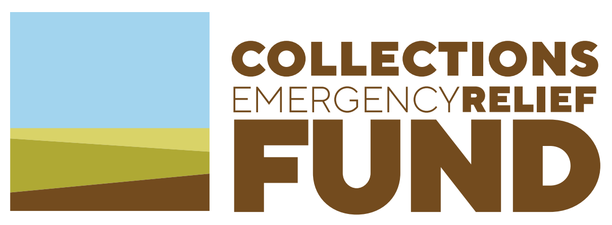 Collections emergency relief fund logo